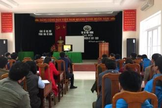 BQL VQG Phong Nha - Kẻ Bàng: Học tập, quán triệt và triển khai thực hiện Nghị quyết Hội nghị lần thứ 6 BCH Trung ương Đảng (khoá XII)